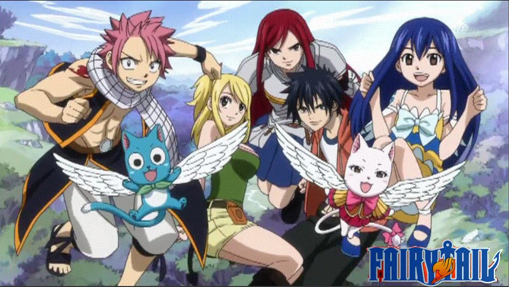 Fairy Tail / Фейри Тейл TV / Хвост феи [1-211 из ххх] 3gp